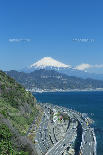 富士山と駿河湾