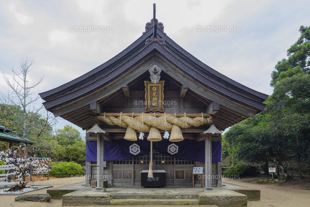 秋の白兎神社