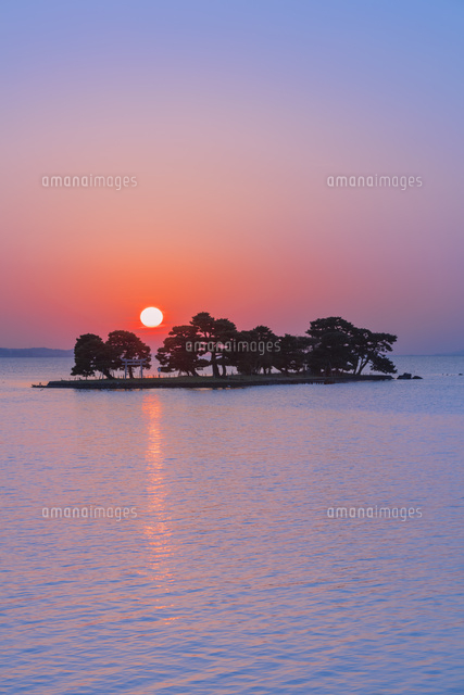 宍道湖の夕日