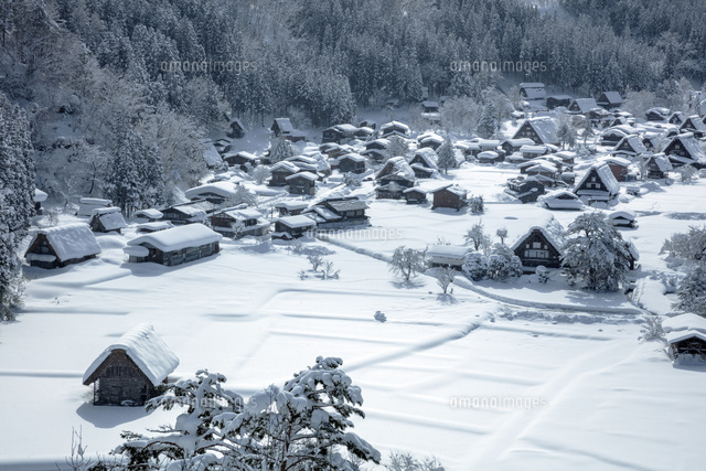 雪の白川郷
