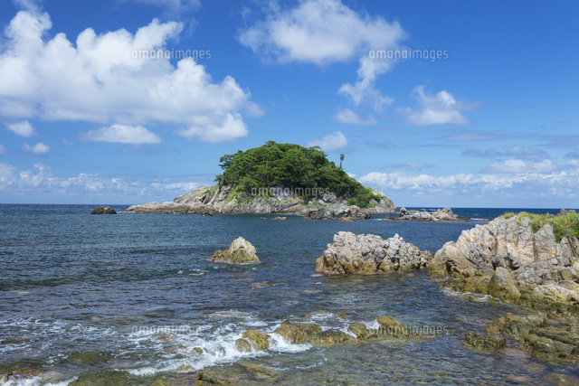 夏の亀島