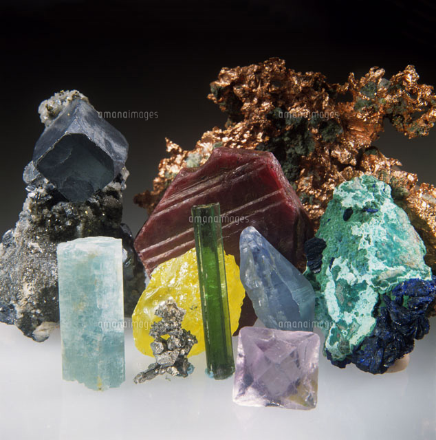Assortment of Minerals