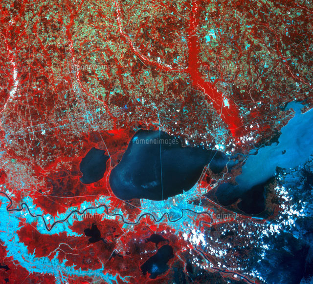New Orleans From Space,1988