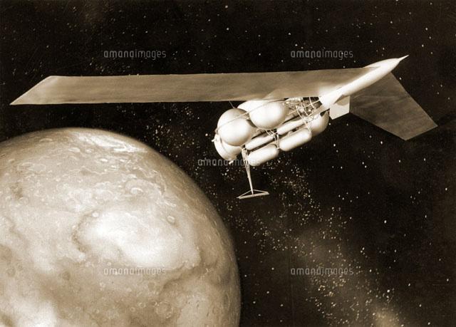 火星用の宇宙船のデザイン01809017220の写真素材イラスト素材