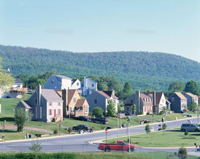 エミッツバーグ近郊の郊外の住宅...