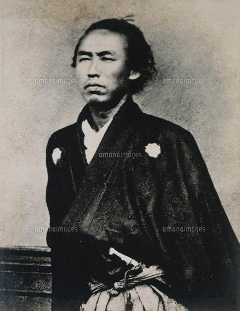 坂本龍馬の肖像写真[02003000341...
