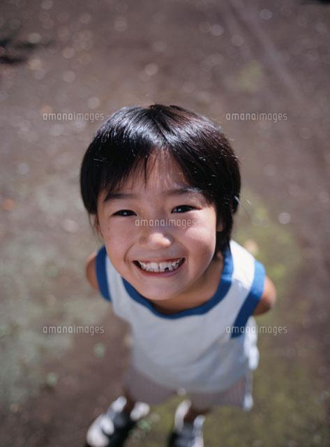 笑顔の少年[02148011131]| 写真...