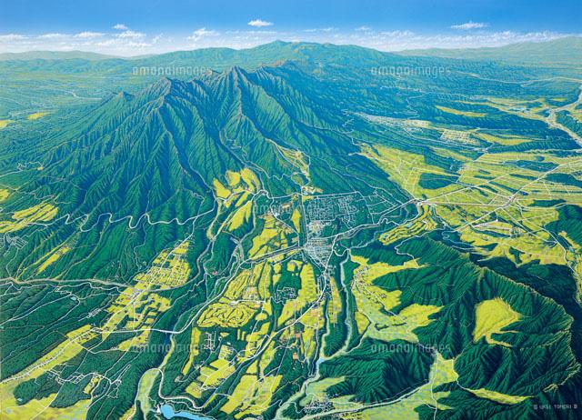 八ヶ岳清里大パノラマ02237001647の写真素材イラスト素材アマナ