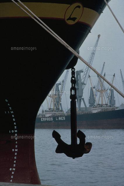 船の錨のシルエット02265018288の写真素材イラスト素材アマナ