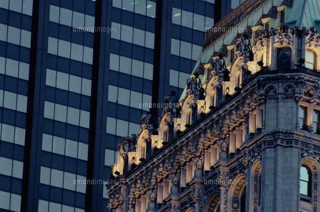 古い建物   ニューヨーク アメリカ