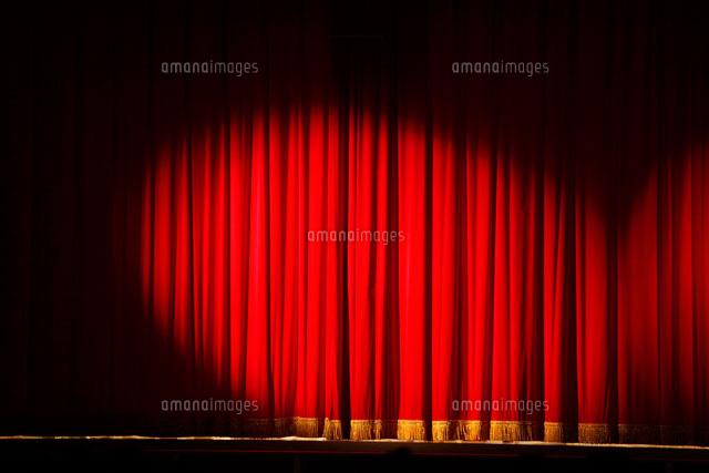 幕のさがった舞台[02284001049]の写真素材・イラスト素材 アマナ ...