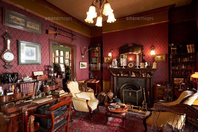シャーロックホームズ博物館02400000073の写真素材イラスト素材