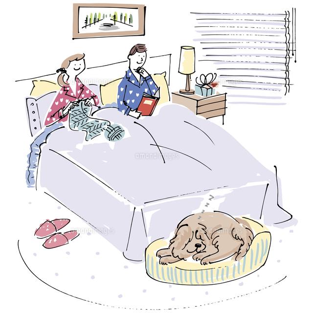 「ベッド 男女 イラスト」の画像検索結果