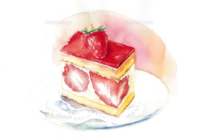 おいしいイチゴケーキ02678000093の写真素材イラスト素材アマナ
