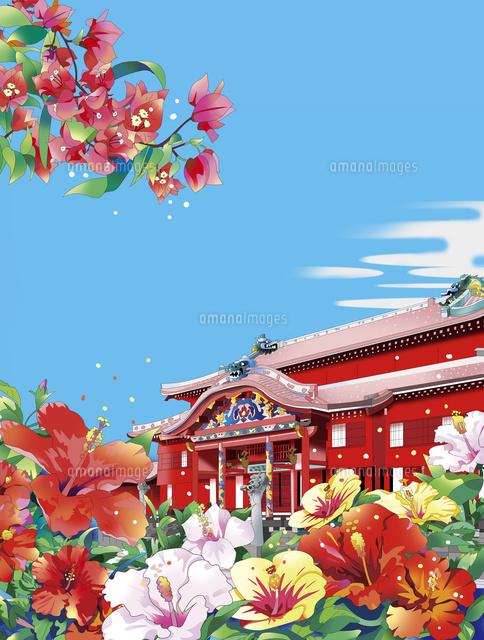 沖縄首里城02694000238の写真素材イラスト素材アマナイメージズ