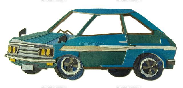青いクラシックカー02837000345の写真素材イラスト素材アマナ