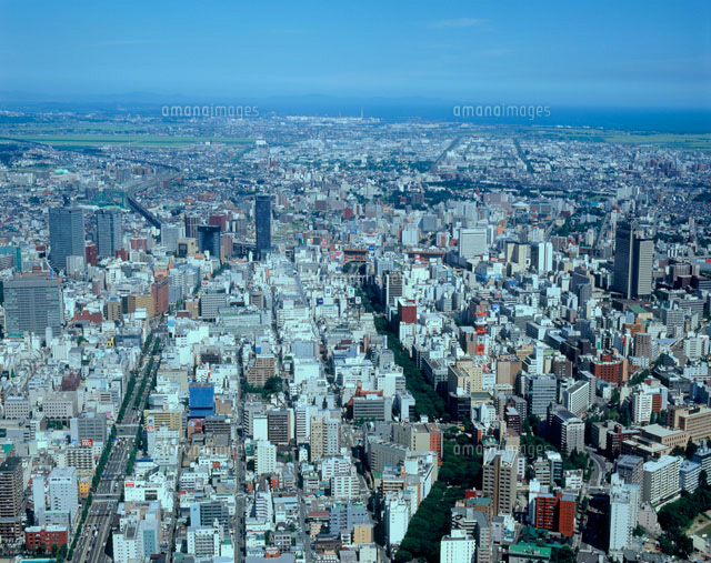 仙台市空撮[20005002544]の写真...