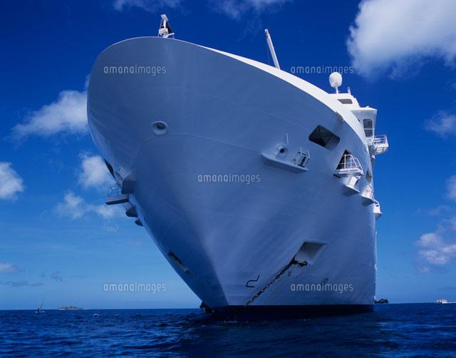 客船の船首[20007002898]| 写真...