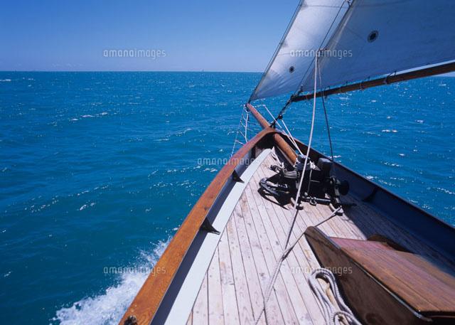 帆船の船首[20007003856]| 写真...