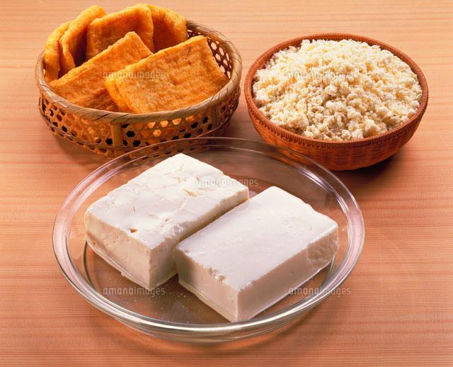 豆腐おから厚揚げ20013003699の写真素材イラスト素材アマナ