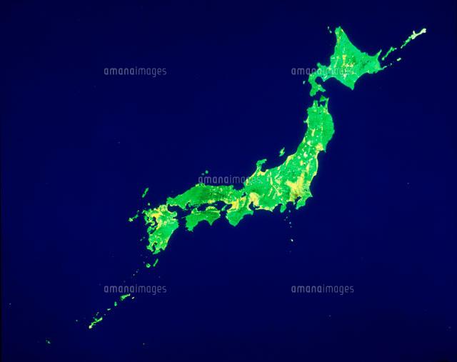 日本列島のランドサット[2001400...