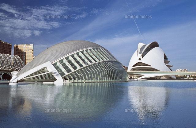 city of arts sciences by calatrava 20023003633 写真素材