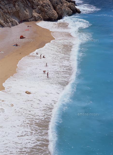 kaputas beach near kalkan south coast anatolia turkey asia