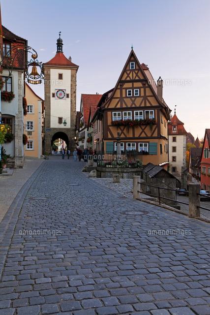 ploenlein siebers tower rothenburg ob der tauber franconia
