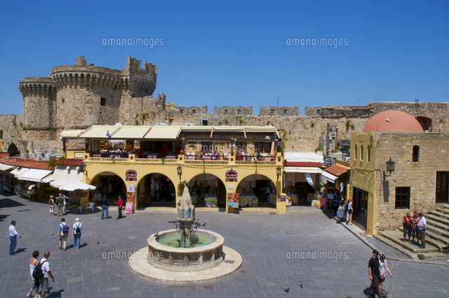 place hippocrate ipocratous city of rhodes unesco world heritage