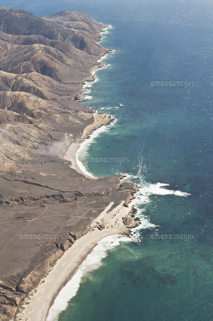 aerial photo of santa rosa channel islands national park
