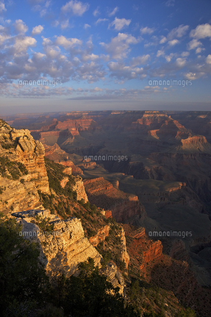 sunrise at mather point south rim grand canyon national park