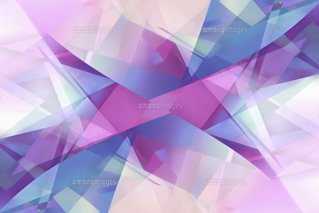 abstract backgrounds pattern of multi layered translucent shapes