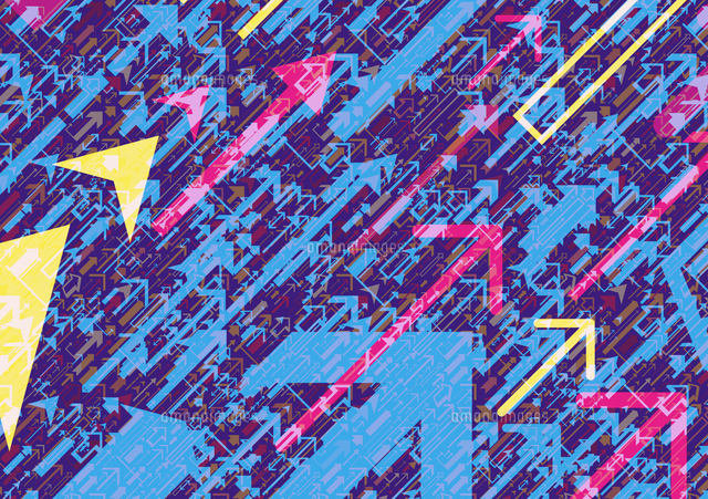 abstract backgrounds pattern of lots of arrows pointing in same