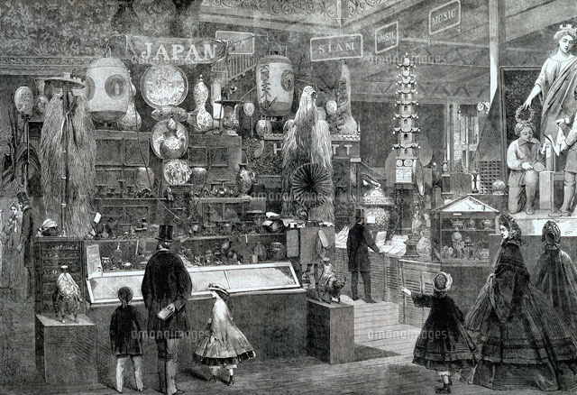 japanese court at the international exhibition of 1862 lon
