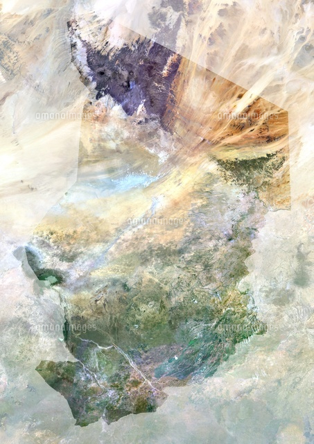 chad africa true colour satellite image with mask 20053000801