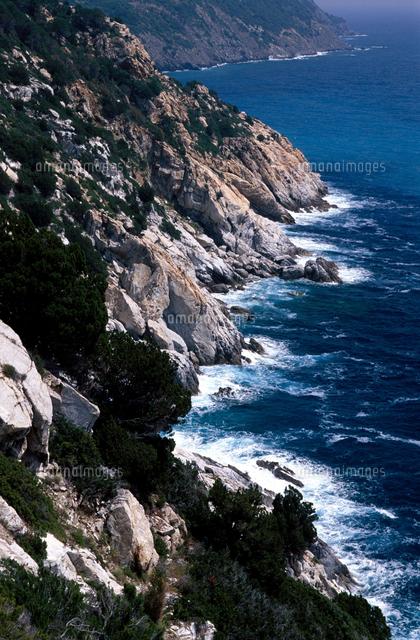 tuscany elba island coastline 20053013655 写真素材 ストック