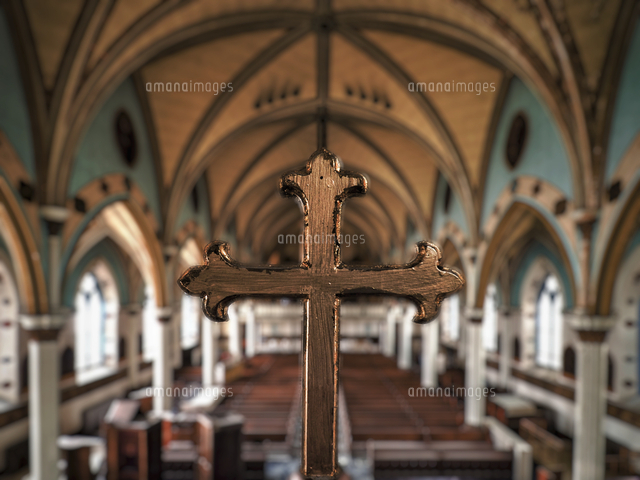 廃墟 フィラデルフィアの教会20079002517の写真素材イラスト素材