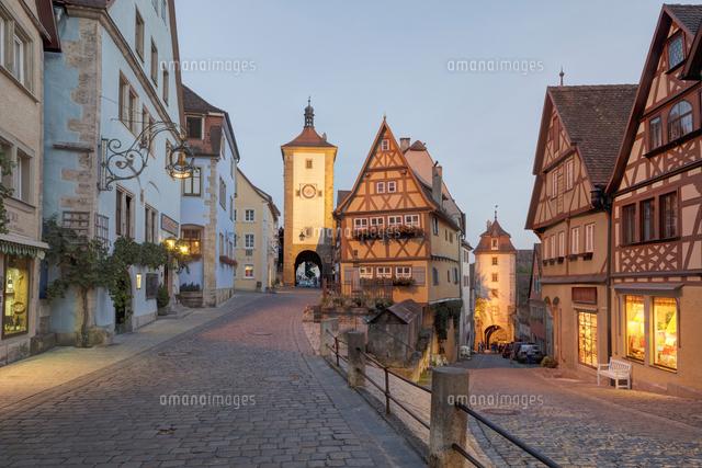 plonlein rothenburg ob der tauber franconia bavaria 20080002767