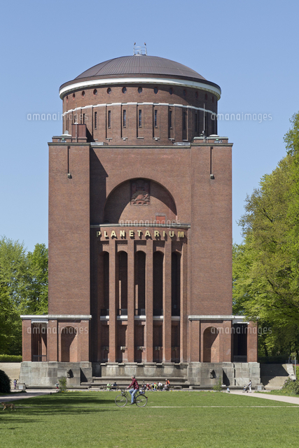 Planetarium, Hamburg, Germany, Europe[20080005233]の写真素材