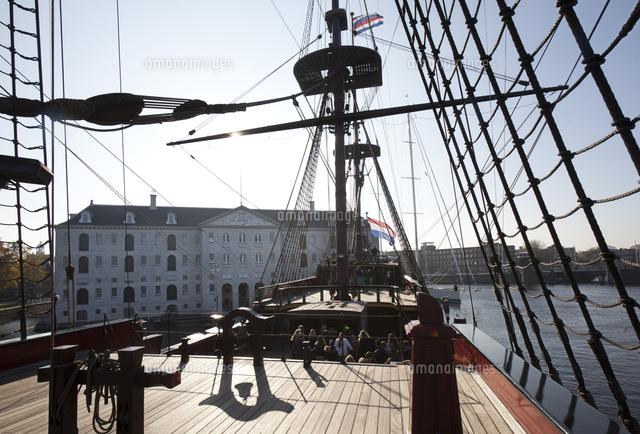 deck of ship amsterdam national maritime museum amsterdam