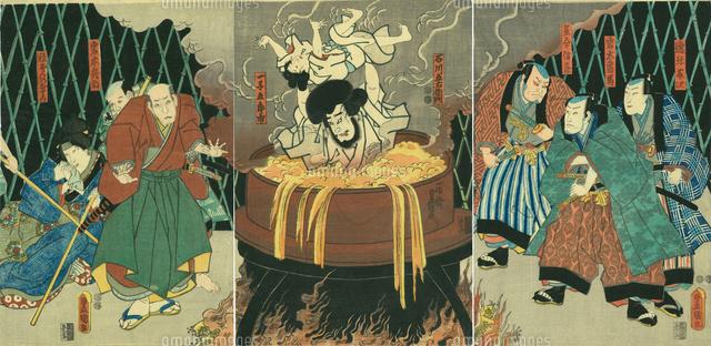 豊国三代 石川五右衛門20086000639の写真素材イラスト素材アマナ
