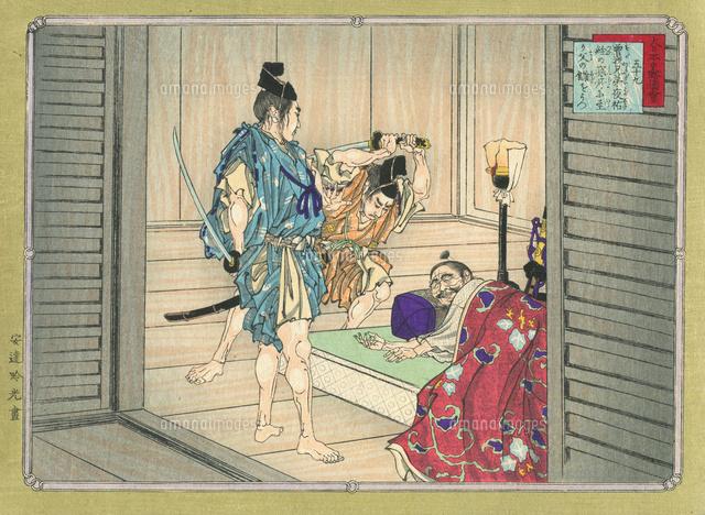 大日本史略図会 曾我兄弟[20086001137]の写真素材・イラスト素材 ...