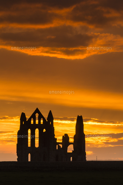 united kingdom england north yorkshire whitby whitby abbey was