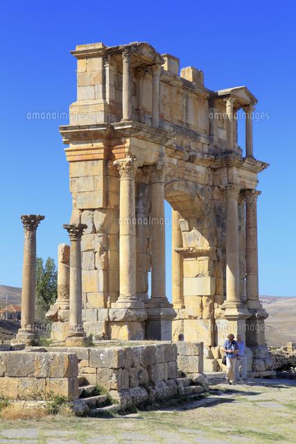 ruins of ancient city cuicul djemila setif province algeria