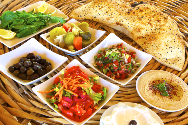Meze Dishes, North Cyprus