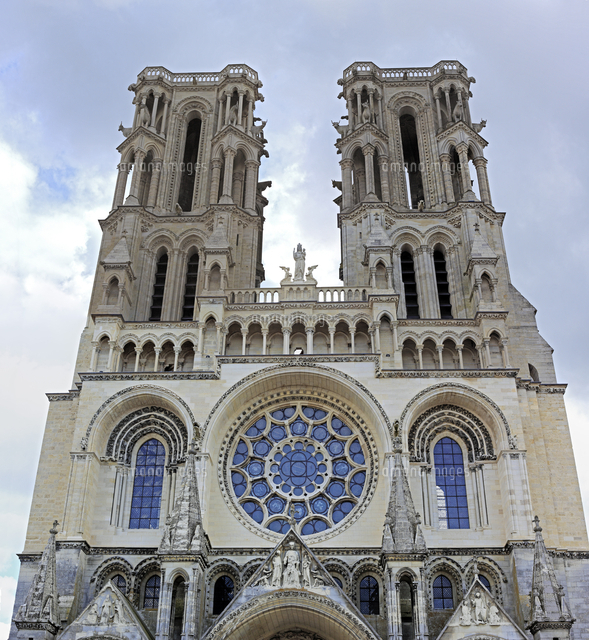 cathedral of our lady of laon laon aisne department picardy