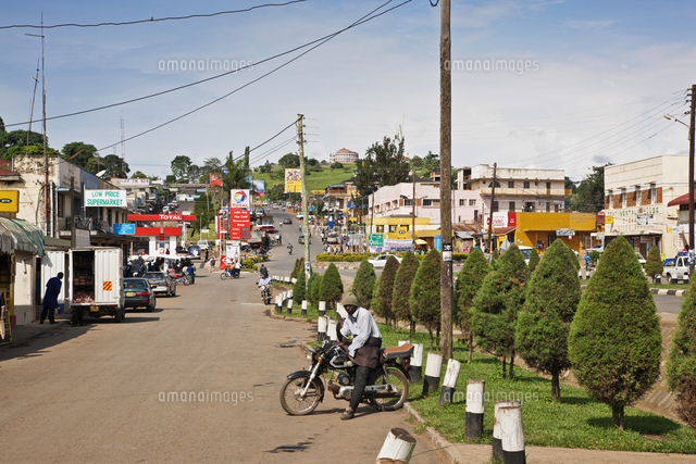 the busy town of fort portal is one of the most attractive in uganda