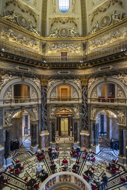 Austria, Vienna, Kunsthistoriches Museum, Art History Museum, museum cafe