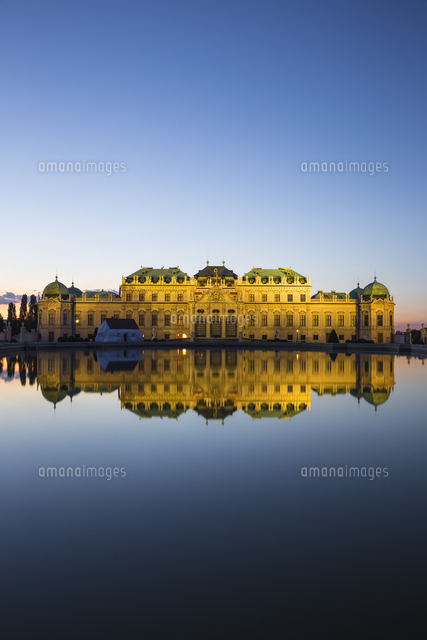 Austria, Vienna, Upper Belvedere Palace