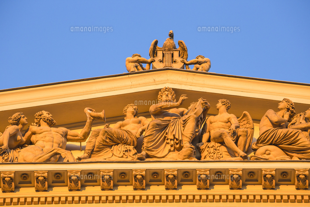 Austria, Vienna, Innere Stad , Musikverein concert hall - home to the philharmonic orchestra - home